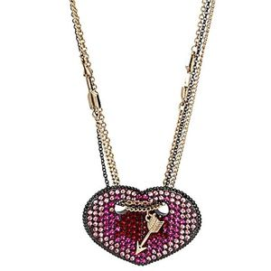 Betsey Johnson HEARTS AND ARROWS HEART NECKLACE